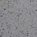 Náhled povrchu krbu - bílo-šedý otryskávaný