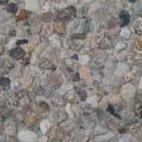 Náhled povrchu krbu - jemný hnědý vymývaný