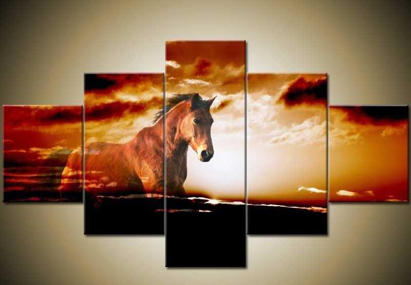 Obraz na zeď - kůň