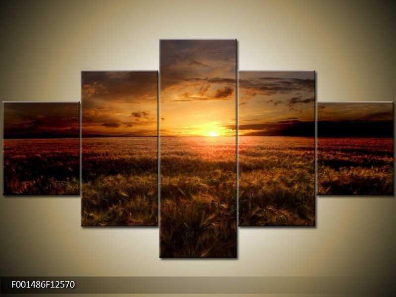 Obraz na zeď - západ slunce