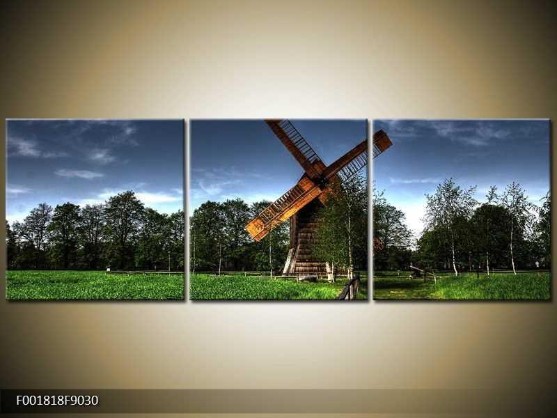 Obraz - větrný mlýn