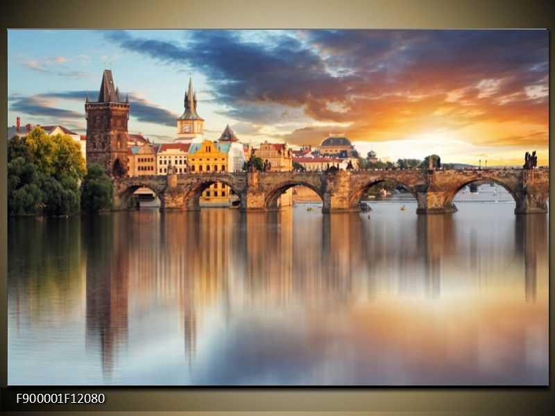 Obraz na zeď - Praha - Karlův most