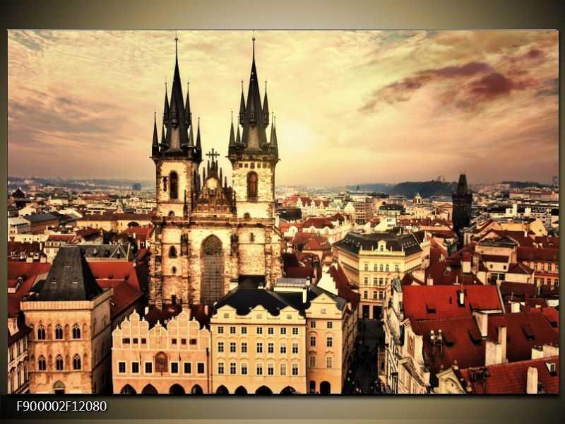 Obraz na zeď - Praha - Staroměstské náměstí SLEVA 36 %