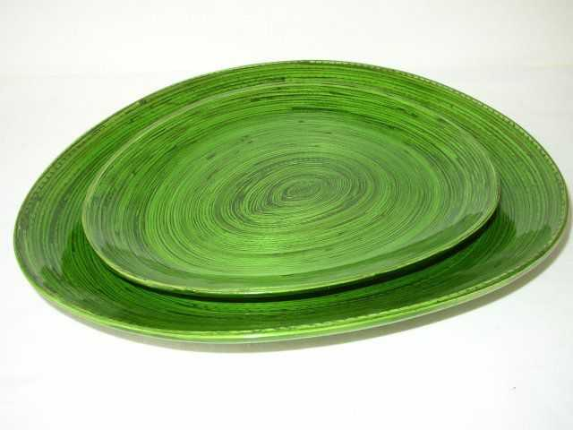 Bambusová miska zelená | RYCHLÉ DODÁNÍ