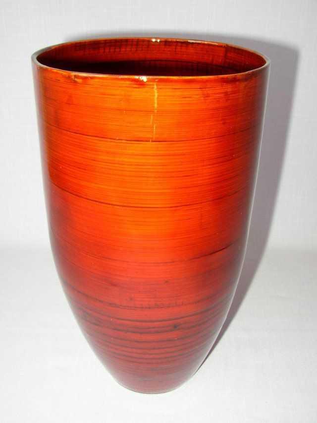Bambusová váza optima červená | RYCHLÉ DODÁNÍ