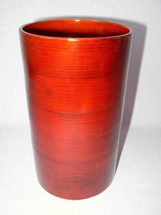 Bambusová váza válec | RYCHLÉ DODÁNÍ