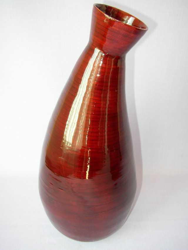 Bambusová váza zakřivená | RYCHLÉ DODÁNÍ
