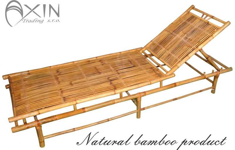 Bambusové lehátko Polo bambus SLEVA 10 % | RYCHLÉ DODÁNÍ