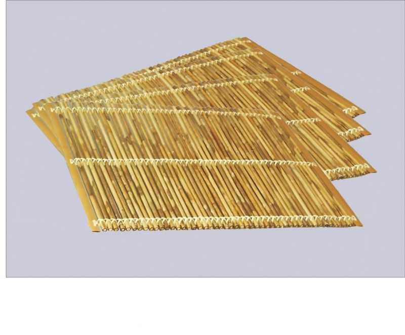 Bambusové prostírání set 4 kusy | RYCHLÉ DODÁNÍ