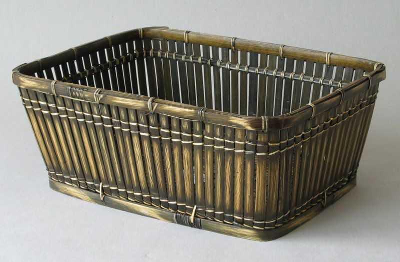 Bambusový košík tmavý XL | RYCHLÉ DODÁNÍ