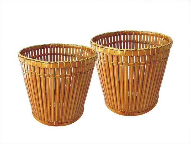 Bambusový obal na květináč set 2 ks | RYCHLÉ DODÁNÍ