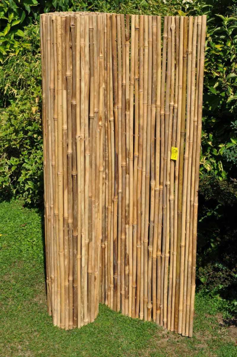 Bambusový plot 100x300 cm SLEVA 7 % | RYCHLÉ DODÁNÍ