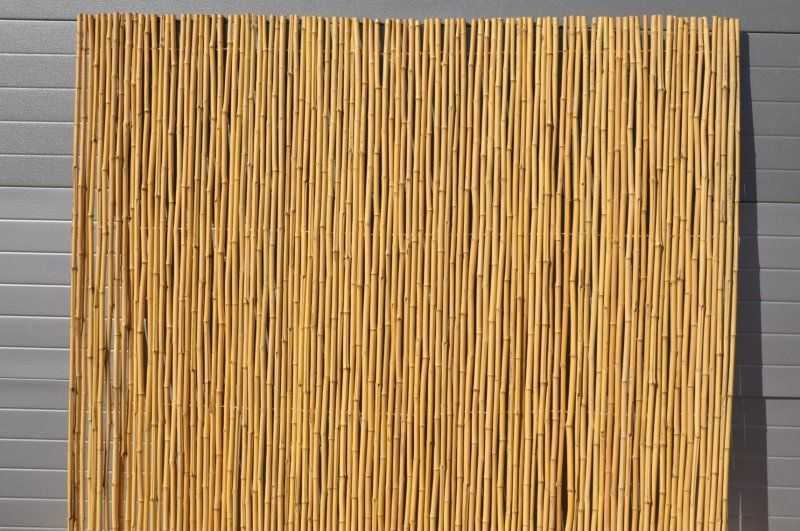 Bambusový plot 2x1,8 m, 18-20 mm natural SLEVA 14 % | RYCHLÉ DODÁNÍ