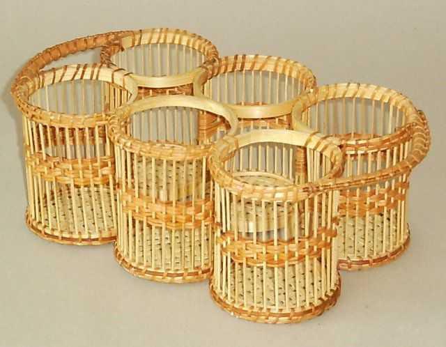 Bambusový podnos na nápoje | RYCHLÉ DODÁNÍ