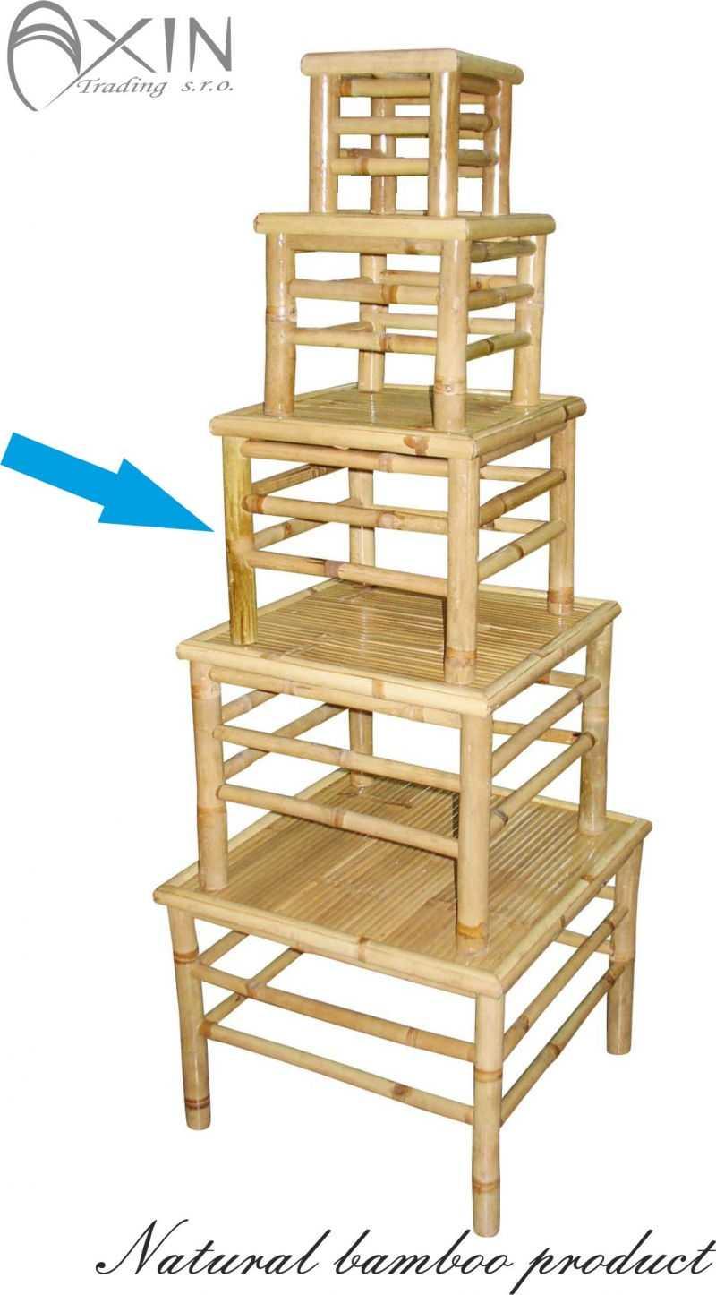 Bambusový stolek L | RYCHLÉ DODÁNÍ