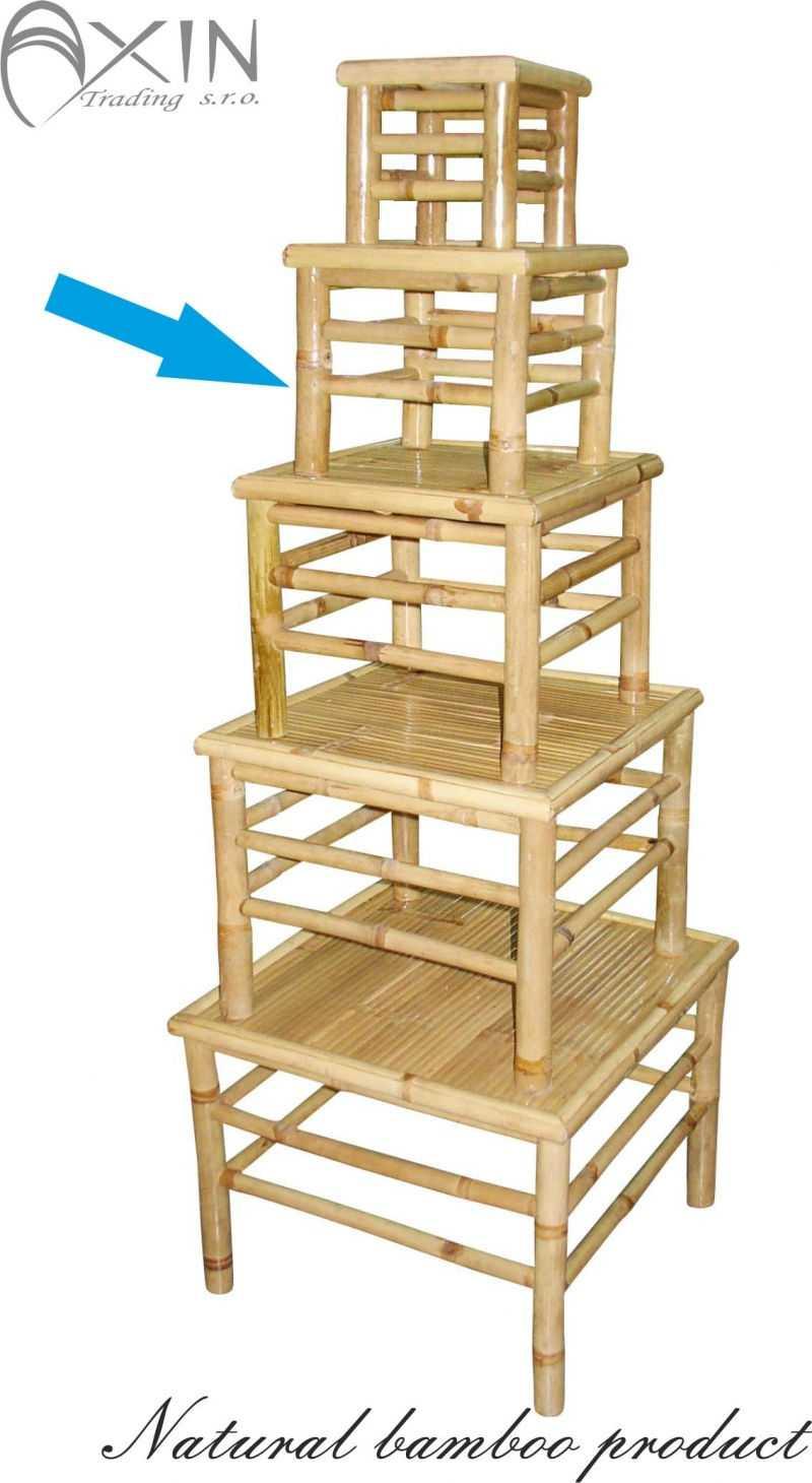 Bambusový stolek M | RYCHLÉ DODÁNÍ