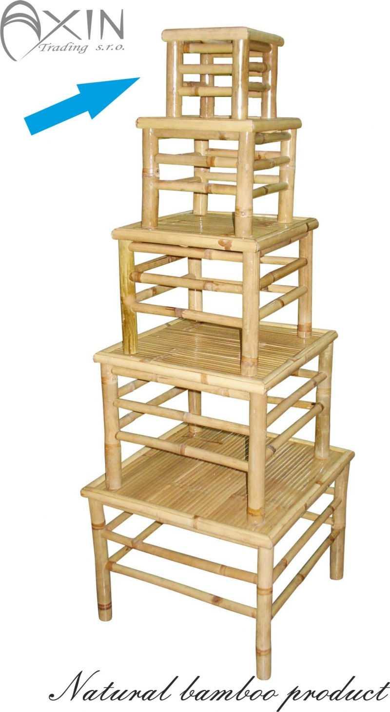 Bambusový stolek S | RYCHLÉ DODÁNÍ