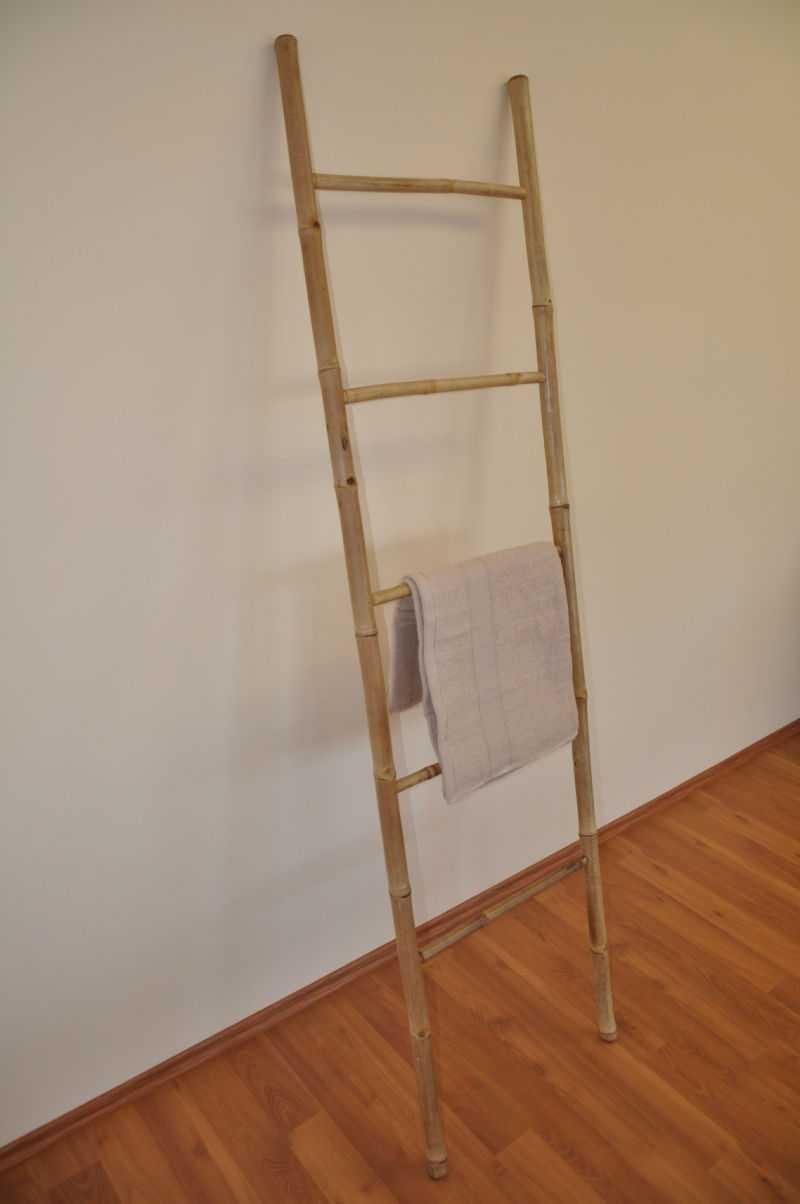 Bambusový žebřík 190 cm | RYCHLÉ DODÁNÍ