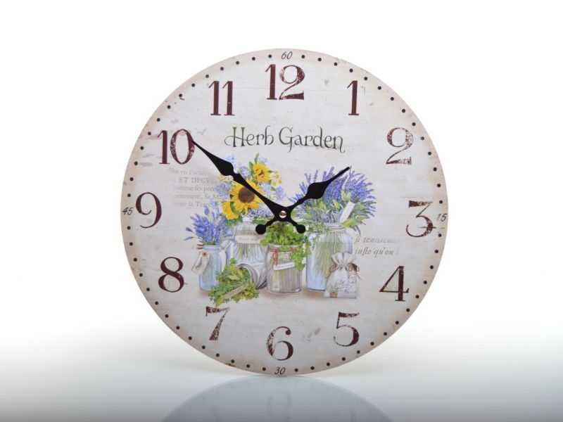 Hodiny nástěnné HLC147145 Herb Garden | RYCHLÉ DODÁNÍ