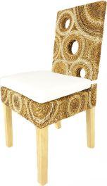 jídelní židle SEATTLE - borovice - banánový list