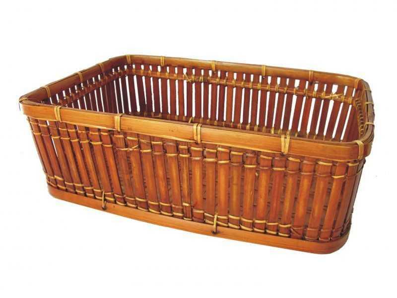 Košík bambusový XL | RYCHLÉ DODÁNÍ