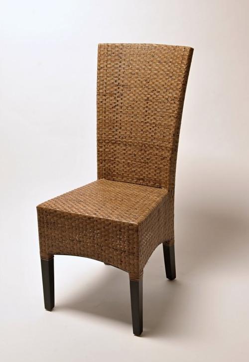 Židle LASIO coklat vysoké opěradlo SLEVA 6 % | RYCHLÉ DODÁNÍ