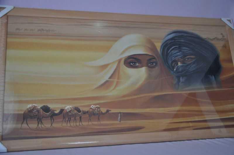 Obraz Sahara 107x57 světlý rám O13 SLEVA 7 % | RYCHLÉ DODÁNÍ