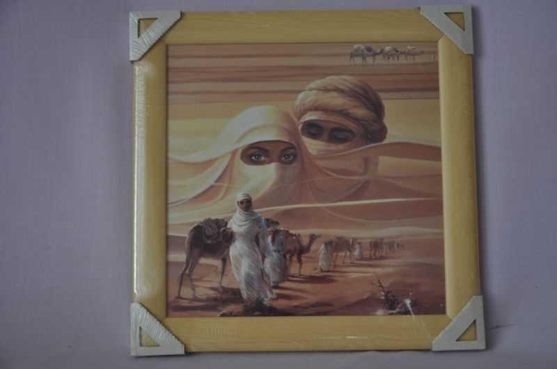 Obraz Sahara 40x40 světlý rám O1 | RYCHLÉ DODÁNÍ