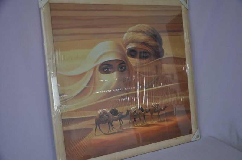 Obraz Sahara 76x76 světlý rám O10 | RYCHLÉ DODÁNÍ