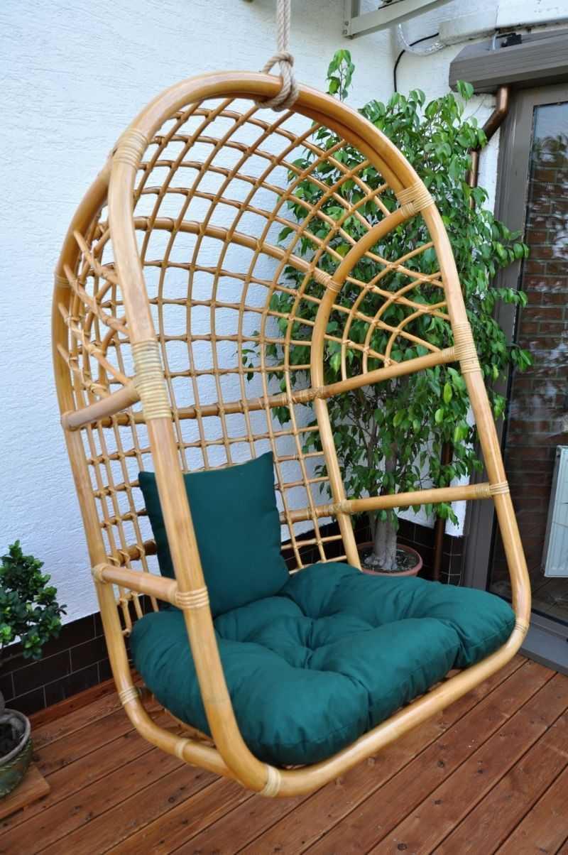 Polstr na závěsnou houpačku zelený dralon | RYCHLÉ DODÁNÍ