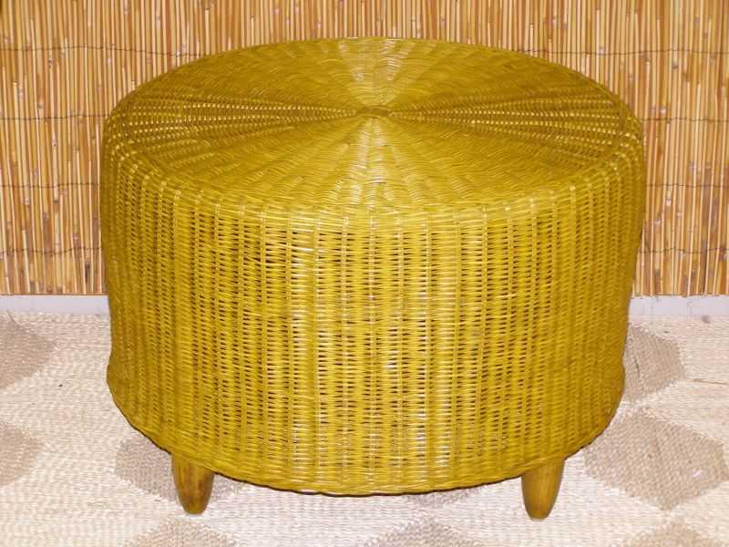ratanový obývací stolek DIANA