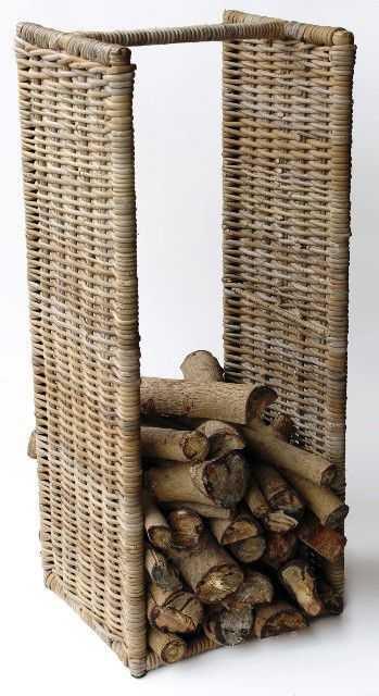Ratanový stojan na dřevo | RYCHLÉ DODÁNÍ