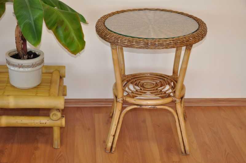Ratanový stolek Safari SLEVA 20 % | RYCHLÉ DODÁNÍ
