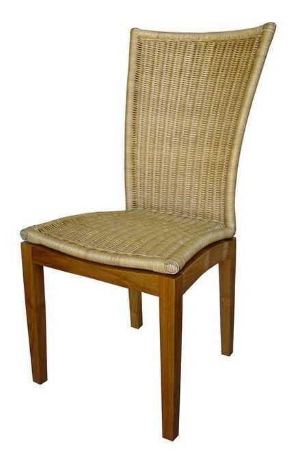 ROMA ratanová židle vysoká - MOŘENÉ NOHY SLEVA 20 % | RYCHLÉ DODÁNÍ