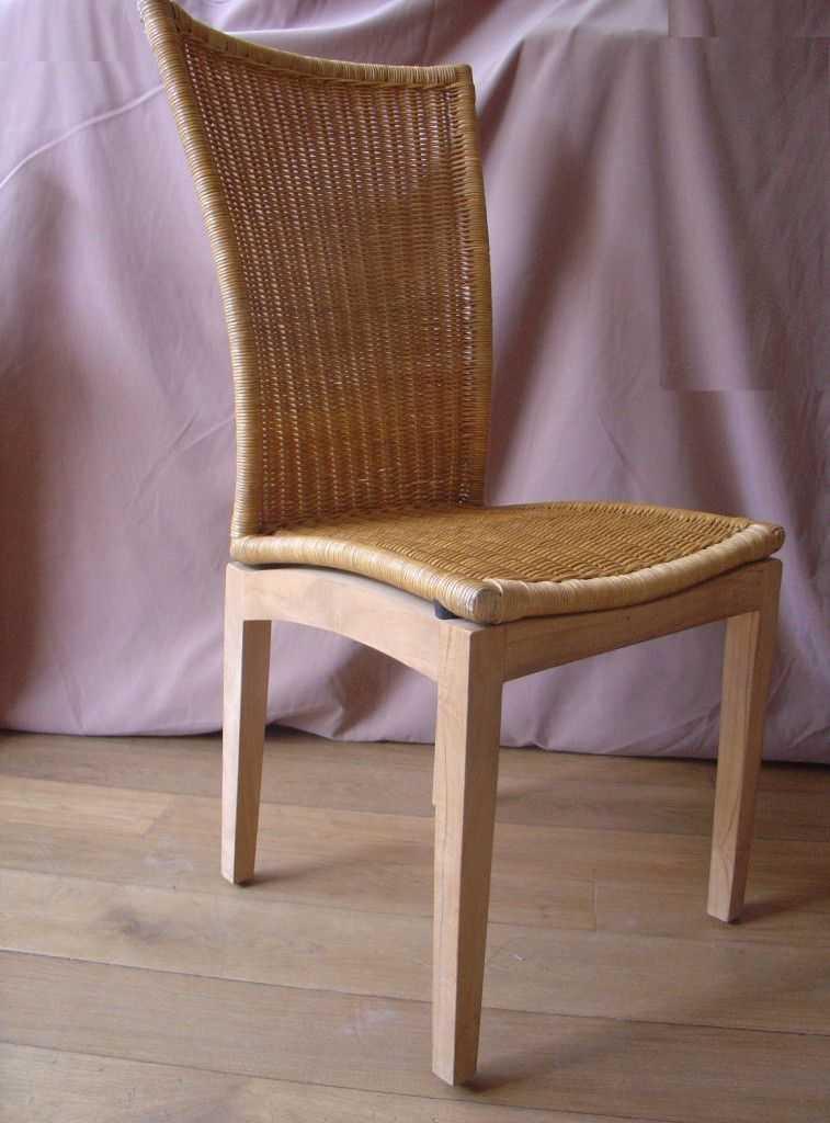 ROMA ratanová židle vysoká SLEVA 13 % | RYCHLÉ DODÁNÍ