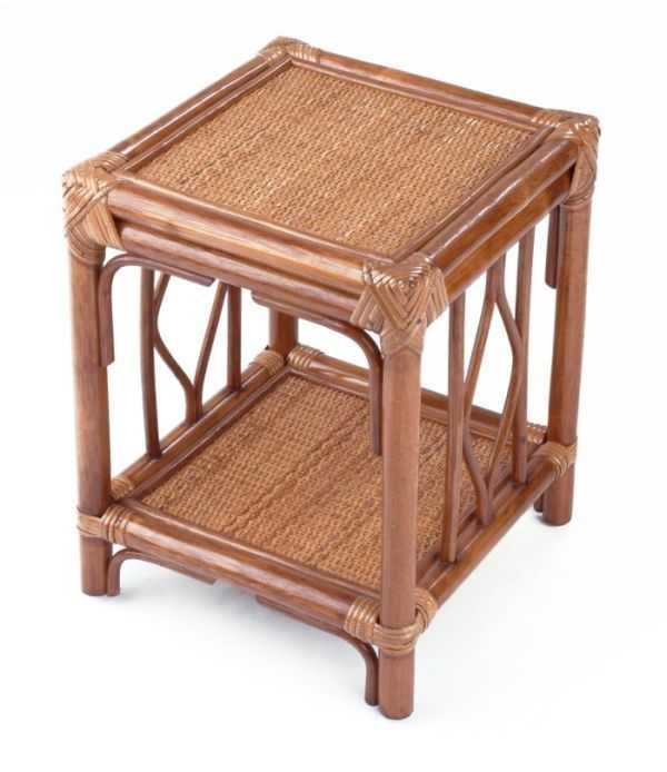 BRUMBUNG ratanový stolek SLEVA 15 % | RYCHLÉ DODÁNÍ