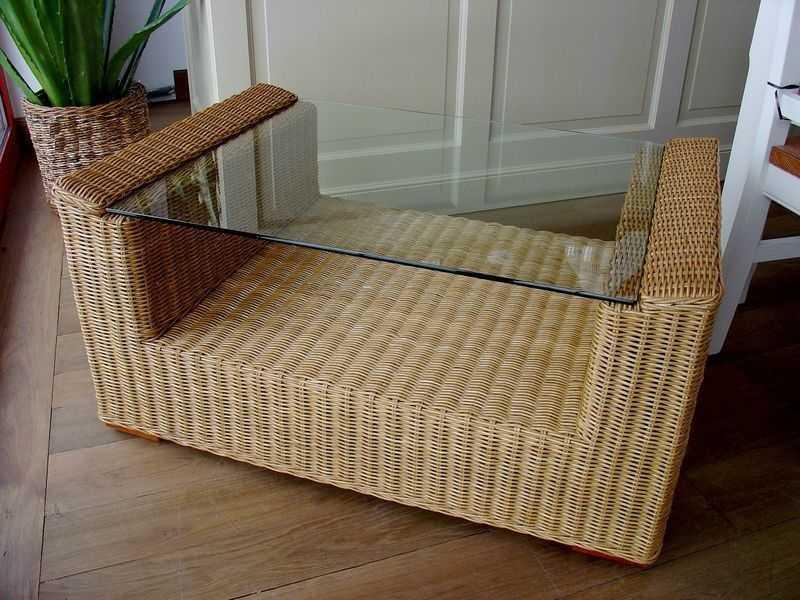 TONDANO ratanový stůl - 100x70cm | RYCHLÉ DODÁNÍ