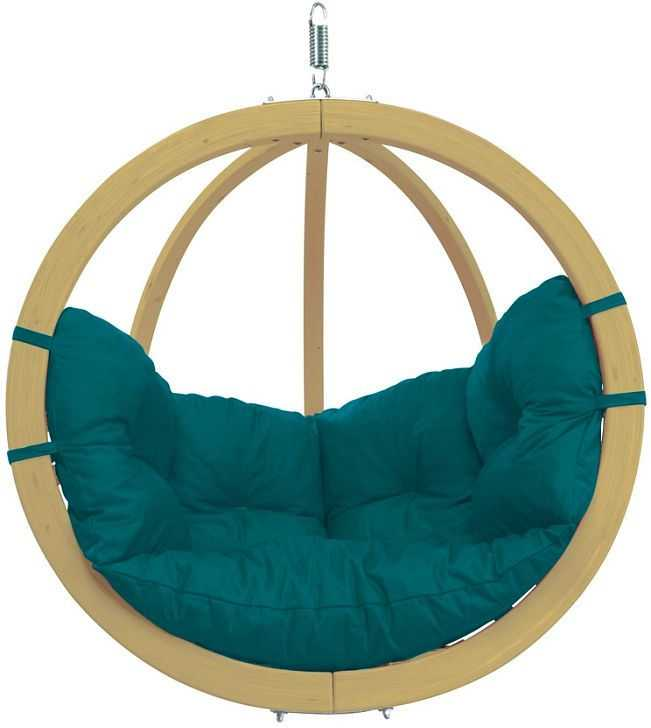 Závěsné houpací křeslo Globo chair green