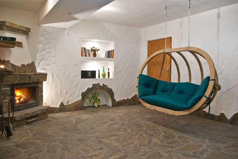 Závěsné houpací křeslo Globo royal chair green