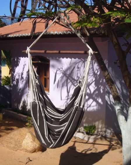 Závěsné houpací křeslo Brasil mocca
