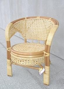 Ratanové křeslo PELANGI - světlý med