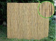Bambusová rohož plotová 130x480 cm vzhledové vady