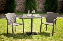 Dimenza designový zahradní BARCELONA set - hnědý (AKČNÍ CENA)