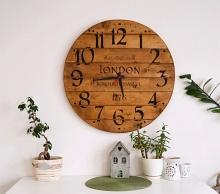 Farmářské hodiny Londýn 66 cm