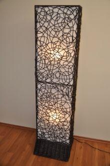 Lampa ratanová vysoká (AKČNÍ CENA)