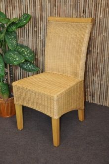 Ratanová židle Larissa medová (AKČNÍ CENA)
