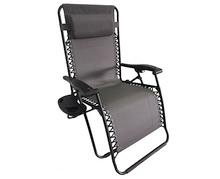 Relaxační lehátko DELUXE šedé