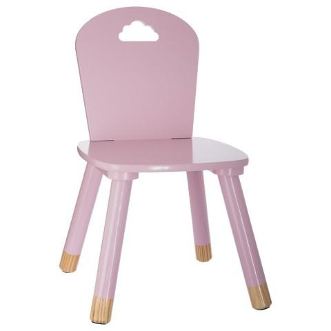 Růžová dětská židle Sweet