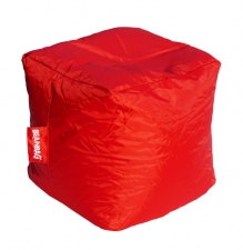 Sedací vak cube scarlet rose