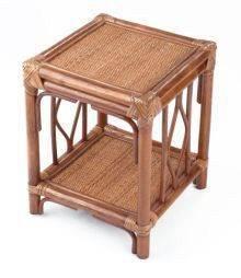 BRUMBUNG ratanový stolek